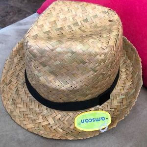 Tan straw hat BRAND NEW